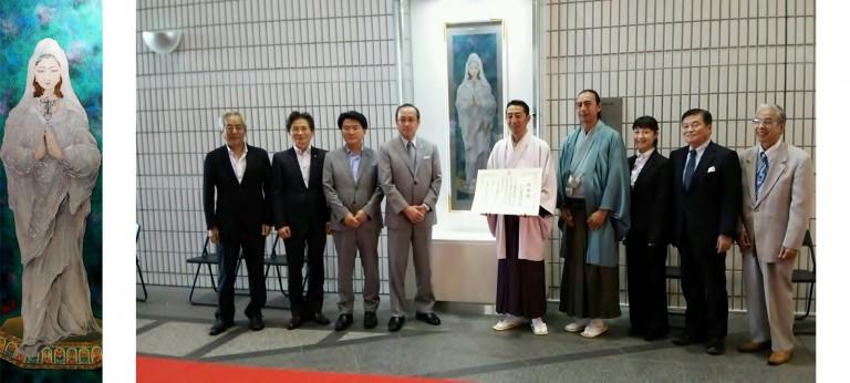 『平和の女神』 広島市へ寄贈