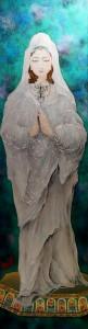 十二代藤林徳扇 TOKUSEN 平和の女神像