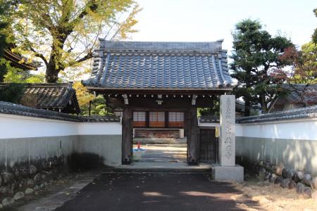 徳円寺 門 - コピー