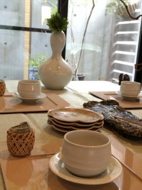 ほうじ茶とおはぎのお茶の時間 (2)