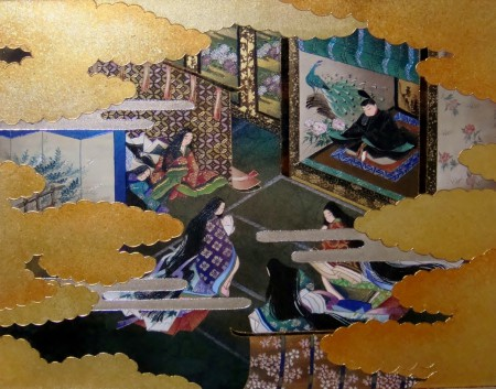 「源氏絵巻物語(第1帖 桐壺)」10号サイズ