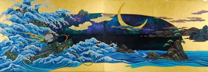 京都大徳寺養徳院襖絵「瑞兆の図」