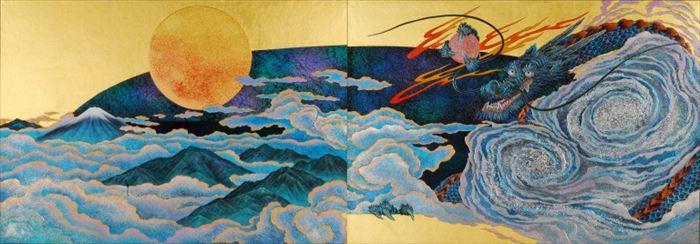 京都大徳寺養徳院襖絵「瑞兆の図」3