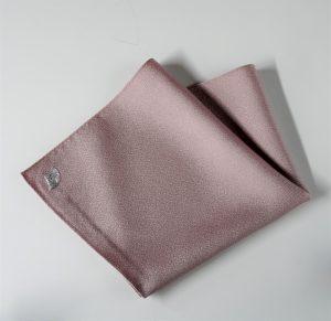 高級 織物 TOKUNARI 宝石  エレガント 洗練 上質 ポケットチーフ KYOTO ピンク フォーマル パーティ