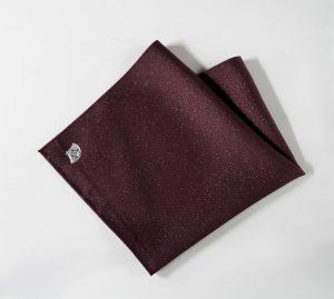 紫 高級 織物 TOKUNARI 宝石  エレガント 洗練 上質 ポケットチーフ KYOTO フォーマル パーティ